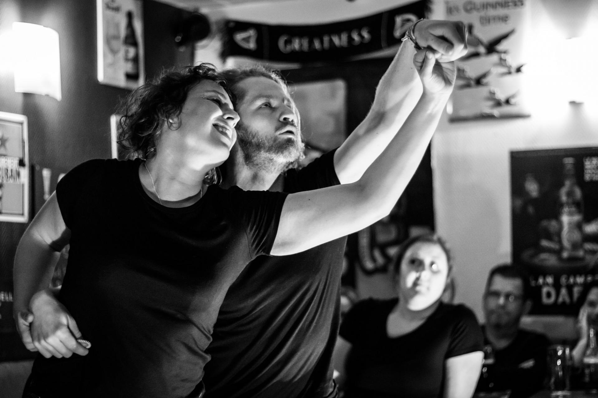 Cabaret au Dub 30 avril 2018 - Photo par Simon Boutet
