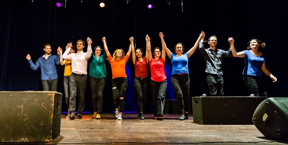 La Comédie Musicale Improvisée - Photo de Quentin le Gall